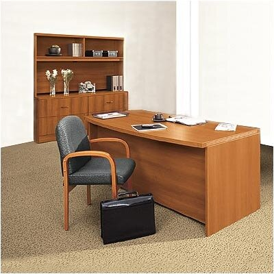 Global Total Office Correlation 2-Piece Standard Desk Office Suite