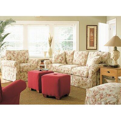 Rowe Furniture Nantucket Slipcovered Queen Sleeper Sofa