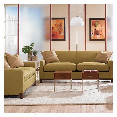Rowe Furniture Martin Mini Mod Apartment Sofa and Loveseat