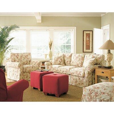 Rowe Furniture Rowe Basics Nantucket Slipcovered Sofa