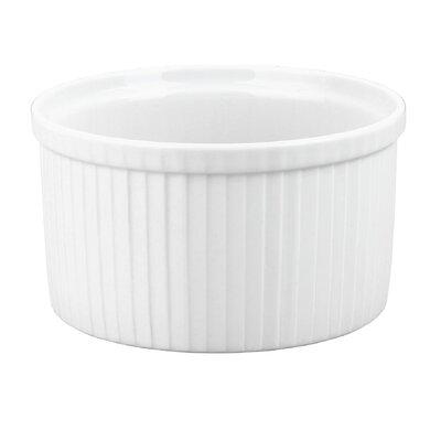 Pillivuyt Pleated Deep Souffle Dish, 3.5 cup