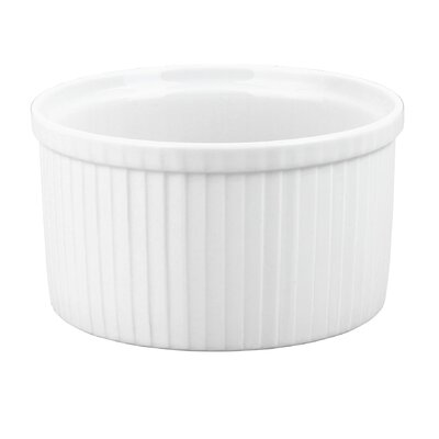 Pillivuyt Pleated Deep Souffle Dish, 7 cup