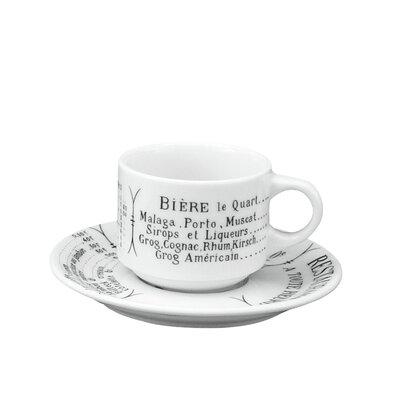 Pillivuyt Brasserie 3 oz. Espresso Cup