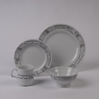 Brasserie Dinnerware Collection by Pillivuyt
