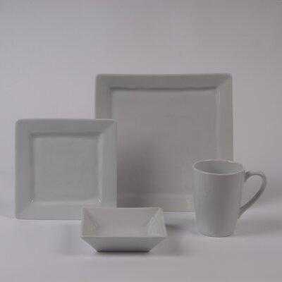 Quartet Rimmed Bowl 4 Piece Dinnerware Collection by Pillivuyt