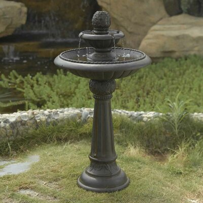 Jeco Inc. Ananas Pineapple Tier Outdoor Fountain