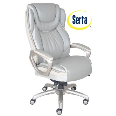 Serenity High-Back Executive Chair by Serta at Home