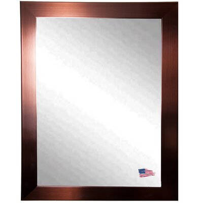 Ava Industrial Bronze Wall Mirror by Rayne Mirrors
