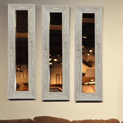 Molly Dawn White Washed Antique Mirror Panel by Rayne Mirrors