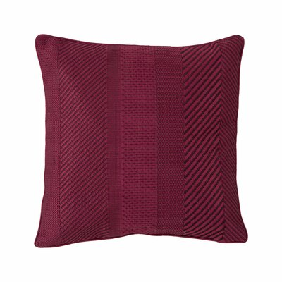 Ziggurat Geo Embroidered Decorative Throw Pillow by Collier Campbell