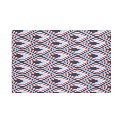 Candlelight Geometric Print Throw Blanket by e by design