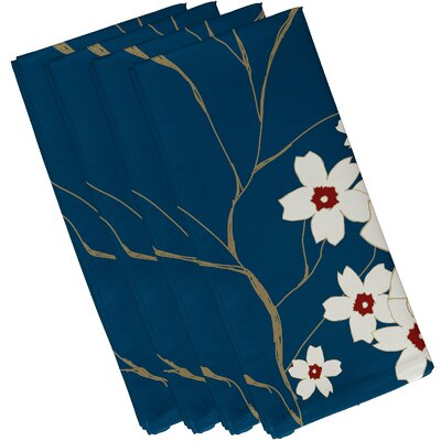 Floral Decorative Napkin by e by design