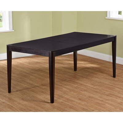 Table wenge extendable images - Table extensible wenge ...