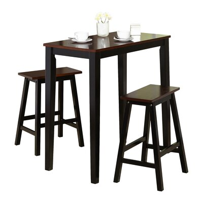 Jacob Breakfast 3 Piece Dining Set by TMS