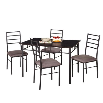 Liv 5 Piece Dining Set by TMS