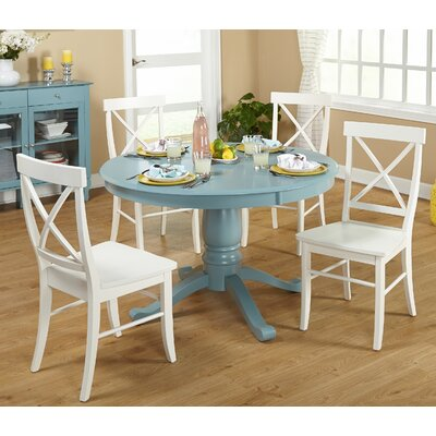Arianna 5 Piece Pedestal Dining Set by TMS