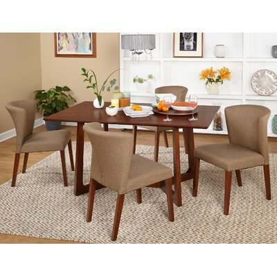 Olivia 5 Piece Dining Set by TMS