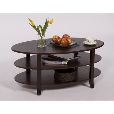 TMS London 3 Tier Coffee Table