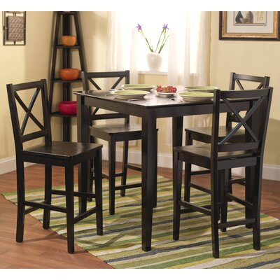 TMS 5 Piece Counter Height Dining Set
