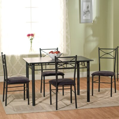 Valencia 5 Piece Dining Set II by TMS