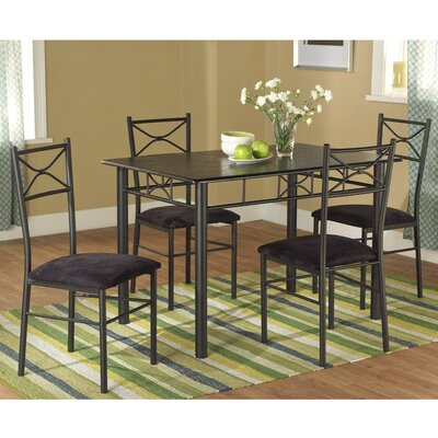 Valencia 5 Piece Dining Set I by TMS