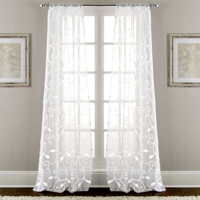 Embroidered Curtain Panel (Set of 2) Product Photo