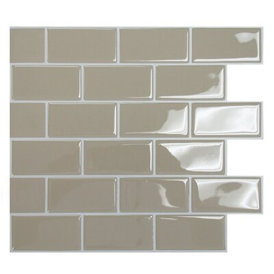 "Mosaik 9.75"" x 10.95"" Subway Tile in Sand Product Photo"