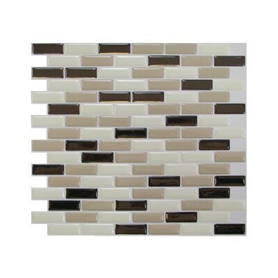 "Mosaik 9.1"" x 10.2"" Mosaic in Beige & Brown Product Photo"