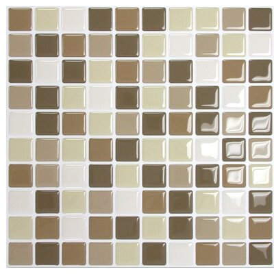 "Mosaik 9.85"" x 9.85"" Mosaic Tile in Multi Product Photo"
