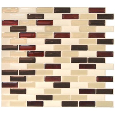 "Mosaïk 10.25"" x 9.13"" Mosaic Tile in Murano Sienna Product Photo"