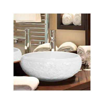 Hand Carved Porcelain Fish Bathroom Sink by Linkasink