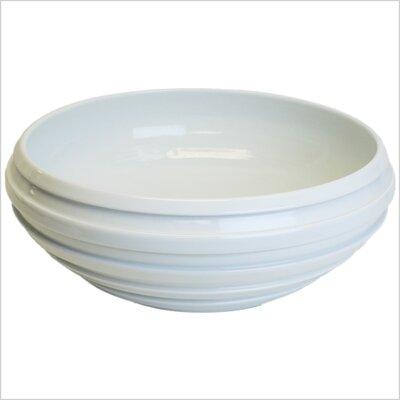Handmade Porcelain Stripe Bathroom Sink by Linkasink