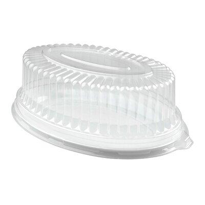 Platter Pleasers Oval Dome PET Lid by Fineline Settings, Inc