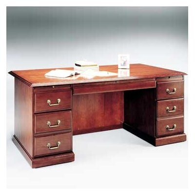 High Point Furniture Legacy Executive Desk with 6 Drawers