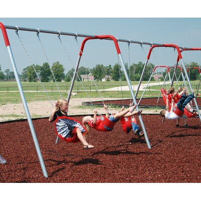 4-Place Bipod Swing Set Product Photo