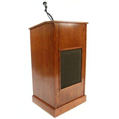 Executive Wood Products Collegiate Evolution Sound System Full Podium