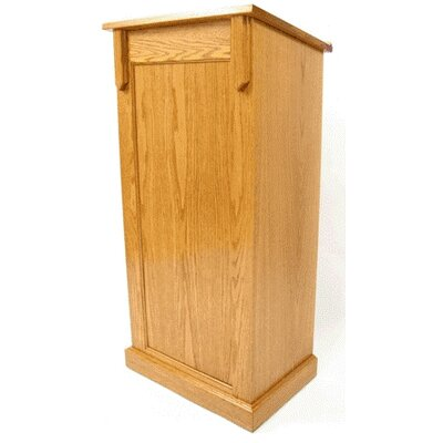 Executive Wood Products Deluxe Pedestal Full Podium
