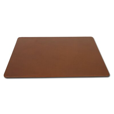 Dacasso 3200 Series Leather 17 x 14 Conference Pad in Rustic Brown