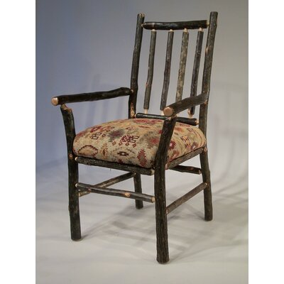 Berea Rail Back Arm Chair by Flat Rock Furniture