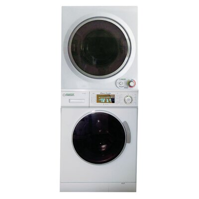 1.6 cu. ft. Washer and 3.39 cu. ft. Electric Dryer by Equator