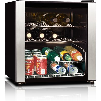Midea 16 Bottle Single Zone Freestanding Wine Refrigerator by Equator