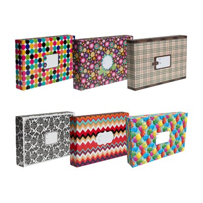 Jillson & Roberts Decorative Mailing Box (6 Piece)