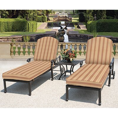 Laneon 3 Piece Lounge Seating Group with Cushions by Art Frame Direct