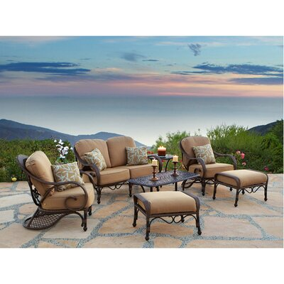 Loreto 7 Piece Deep Seating Group with Cushions by Art Frame Direct
