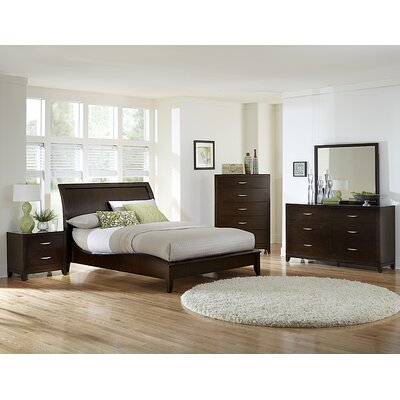 Starling Sleigh Bed by Woodhaven Hill