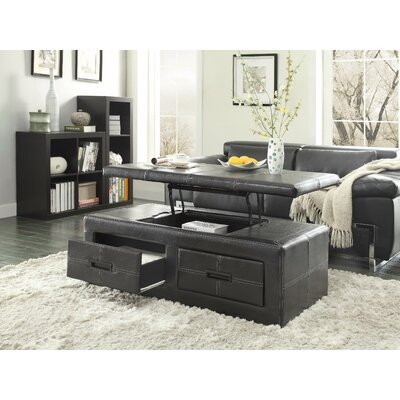 Woodbridge home designs baine coffee table with lift top - Woodbridge home designs avalon coffee table ...