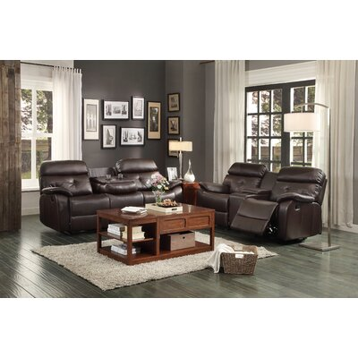 Woodbridge Home Designs Evana Double Glider Reclining With