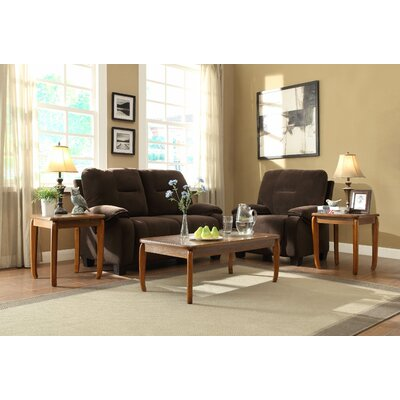 Woodbridge Home Designs Barnaby 3 Piece Occasional Coffee Table Set Reviews Wayfair