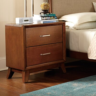 Woodbridge Home Designs Bedroom Furniture Woodbridge Home Designs Soren 2 Drawer Nightstand