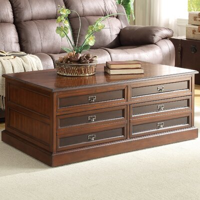 Woodhaven hill friedrich coffee table with lift top - Woodbridge home designs avalon coffee table ...